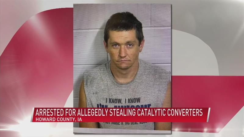 Rochester man arrested in connection with catalytic converter theft