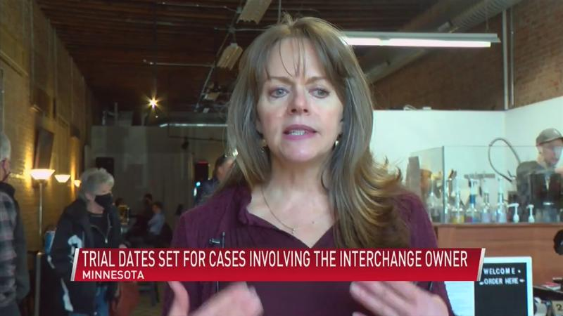 Trial dates set for criminal and civil cases involving The Interchange owner