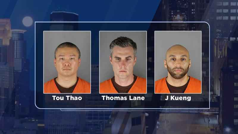 March trial schedule set for 3 ex-officers in Floyd's death