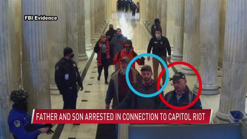 Austin man and his father arrested in connection to Capitol riots in January