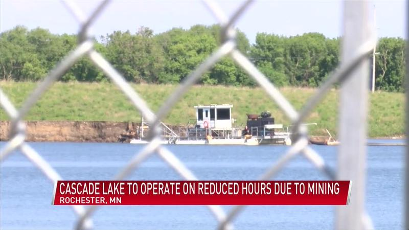 Cascade Lake to operate on reduced hours due to mining