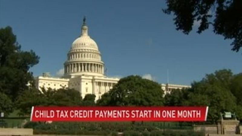 Child tax credit payments begin in one month