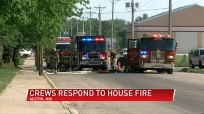 Fire Chief: House fire started after child lit clothes on fire