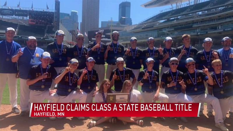 Hayfield Vikings take Class A state title