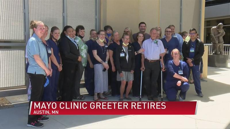 Mayo Clinic says farewell to beloved Austin employee