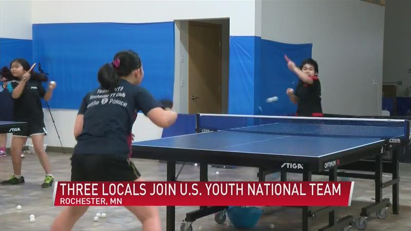 Rochester Table Tennis Club qualifies three for U.S. Youth National Team