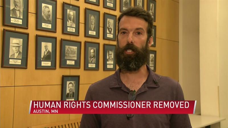 Austin city council votes to remove Human Rights Commissioner