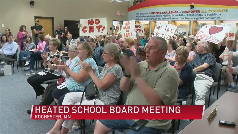 Heated discussion around critical race theory at RPS board meeting