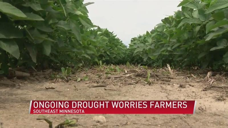 Ongoing drought worries farmers