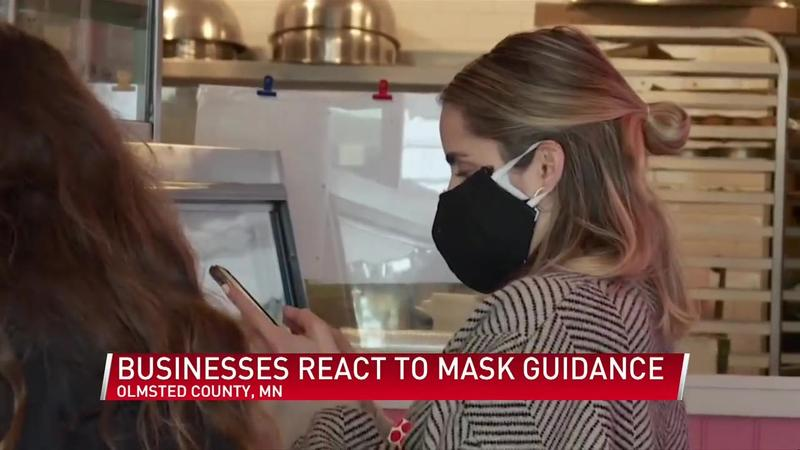 Businesses react to new Olmsted County mask recommendations