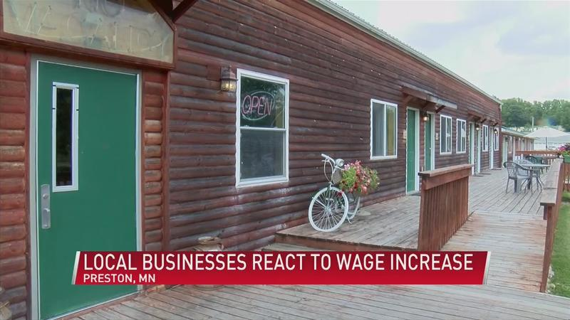 Local businesses react to statewide minimum wage increase