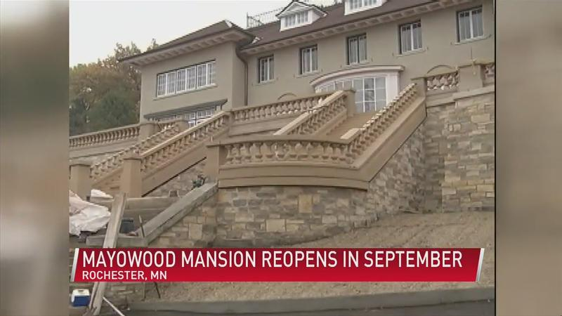 Mayowood Mansion reopens in September