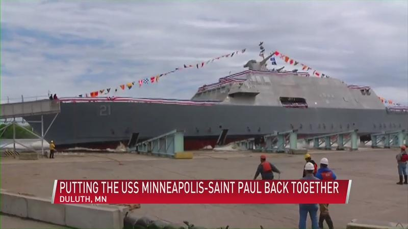 USS Minneapolis St. Paul planning for commissioning in May in Duluth