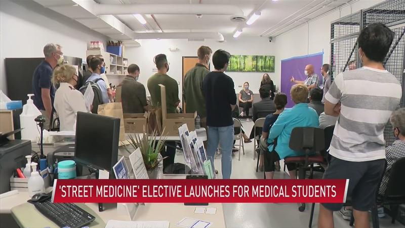 'Street Medicine' elective launches for medical students
