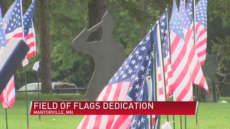 Field of Flags dedication at Marigold Days