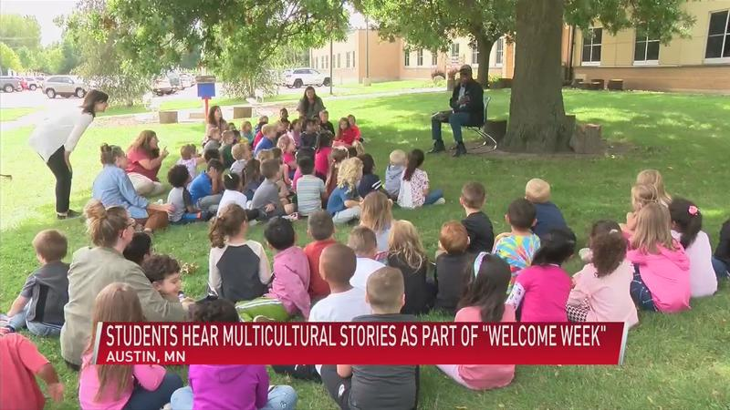 """Students hear multicultural stories as part of """"Welcome Week"""""""