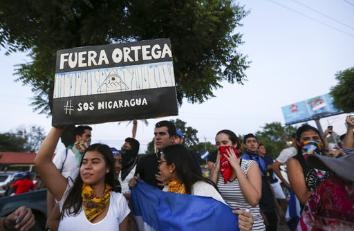 AP Explains: Nicaragua pension changes ignite fiery protests