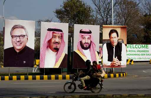 Saudi crown prince delays visit to Pakistan by a day