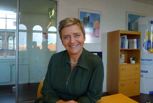 EU's Vestager, Silicon Valley nemesis, doesn't shy from tech