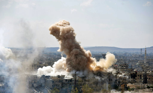 Syrian troops look to isolate IS in Damascus battle