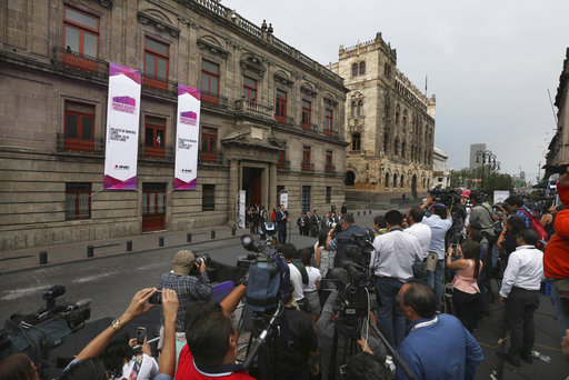 Mexico holds its first presidential debate for July election