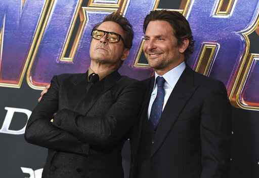 Bradley Cooper, Robert Downey Jr.