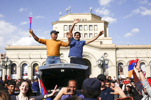 The Latest: Armenia opposition to demand snap election