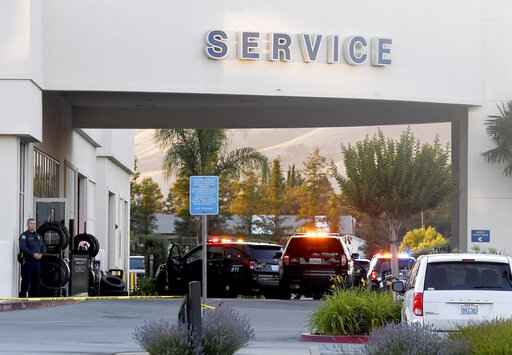 Police: 2 shot dead at Northern California Ford dealership