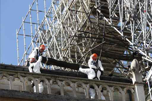 France wants to speed up Notre Dame reconstruction work