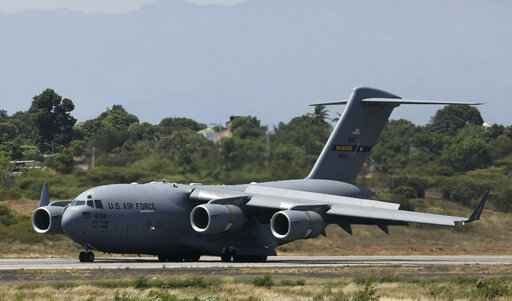 US military planes land near Venezuela border with aid
