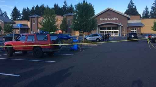 Gunman wounds 2, fatally shot by bystander at Walmart store
