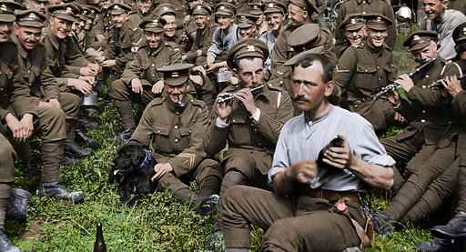 With blockbuster effects, Peter Jackson brings WWI to life