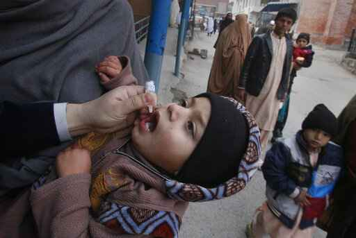 Pakistan kicks off year's first polio campaign in 2019