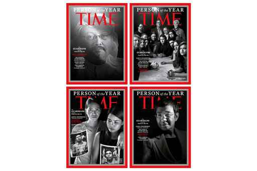 4 journalists and a newspaper are Time's Person of the Year