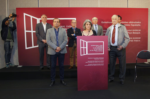Organizers: Basque event next month to bring lasting peace