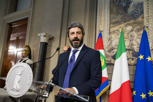 Italy turns to 5-Stars to lead talks to end impasse