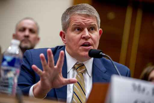 FILE - In this Sept. 25, 2019, file photo Giffords Law Center Senior Policy Advisor David Chipman speaks at a House Judiciary Committee hearing on assault weapons on Capitol Hill in Washington. (The Biden administration is expected to nominate Chipman, a former federal agent and adviser at the gun control group Giffords, to be director of the Bureau of Alcohol, Tobacco, Firearms and Explosives. AP Photo/Andrew Harnik, File)