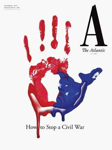 This cover image released by The Atlantic shows their December issue