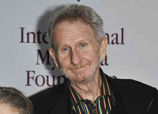 FILE - This Nov. 9, 2013, file photo shows Rene Auberjonois at the International Myeloma Foundation 7th Annual Comedy Celebration in Los Angeles. Auberjonois, a prolific actor best known for his roles on the television shows �Benson� and �Star Trek: Deep Space Nine� and his part in the 1970 film �M.A.S.H.� playing Father Mulcahy, died Sunday, Dec. 8, 2019. He was 79. (Photo by Richard Shotwell/Invision/AP, File)