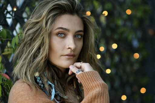 Paris Jackson poses for a portrait in Beverly Hills, Calif., on Oct. 27, 2020, to promote her debut solo album