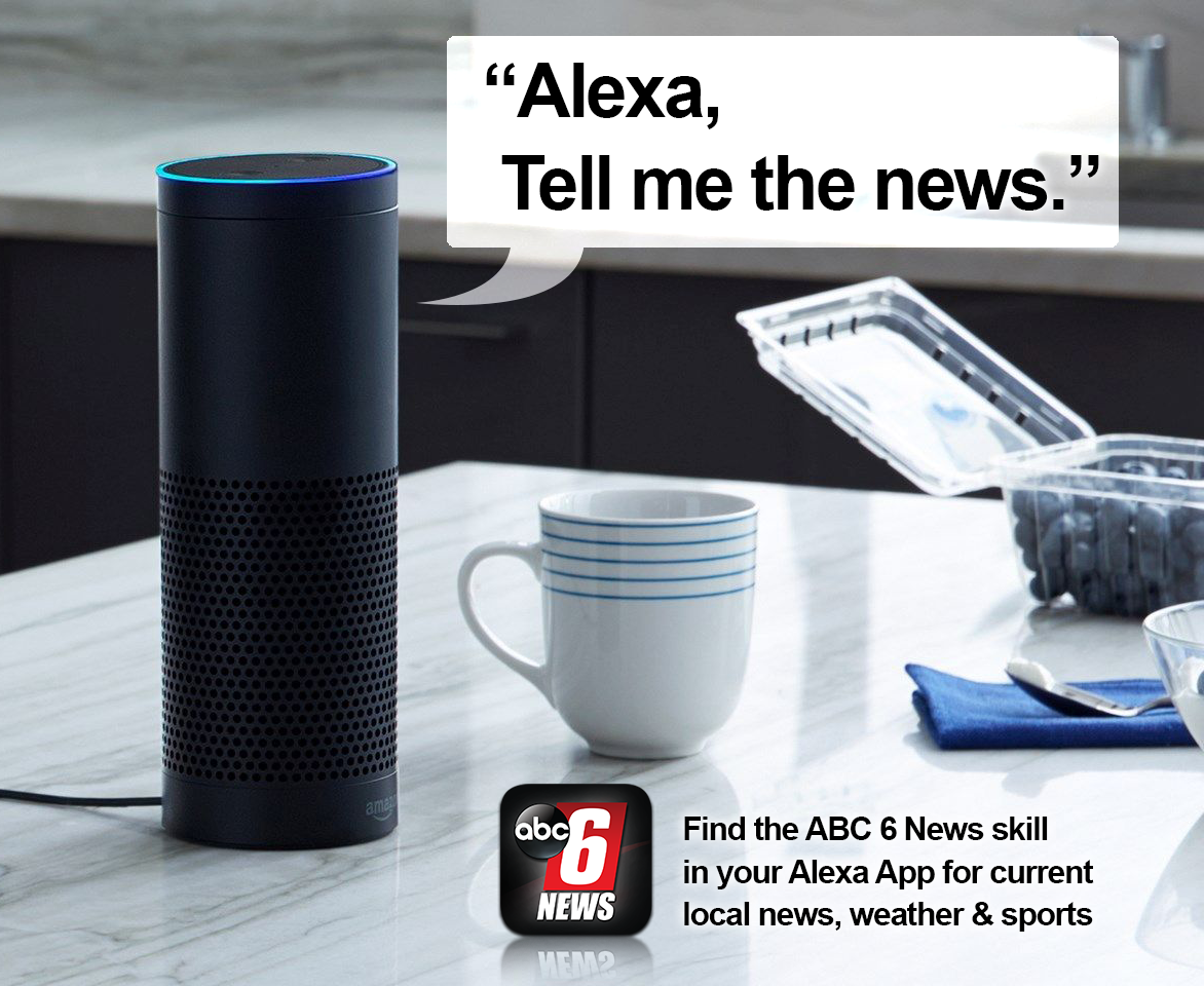 Amazon Alexa ABC 6 News Skill