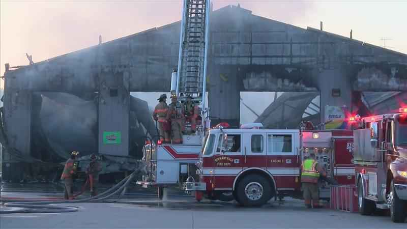 Building Considered Total Loss After Overnight Fire