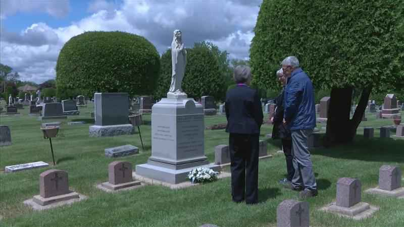 Relative of Mother Mary Alfred Moes Visits Rochester