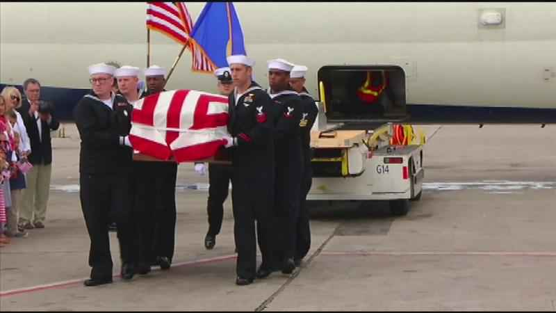 Homecoming Thursday for Emmons Sailor Killed in Pearl Harbor