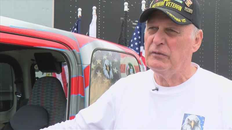 Veteran Traveling Across the Country to Thank Others For Their Service