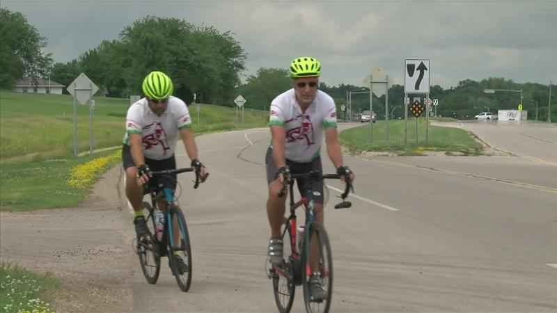 Brothers Biking Across Country for Charity Visit Southern Minnesota