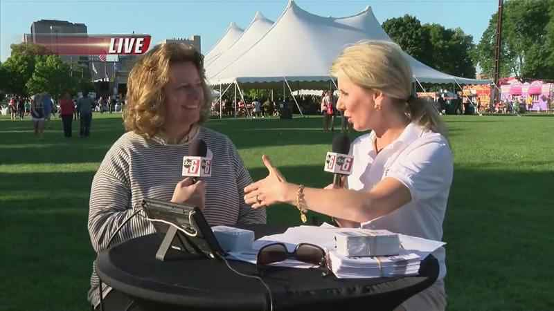 Live 6:30 Newscast from Rochesterfest