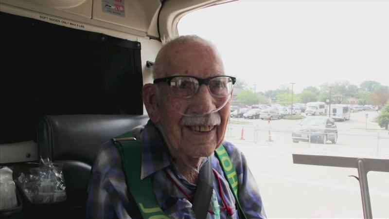 102-Year-Old Man Receives Bucket List Wish