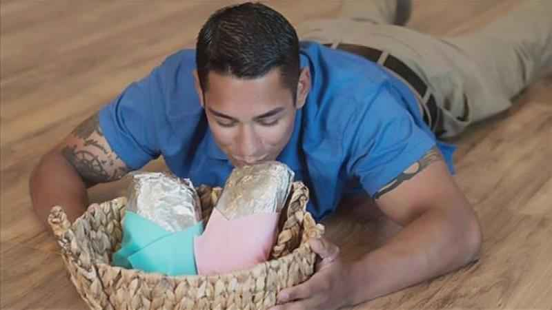 'Burrito Baby' Photo Shoot Raises Money for Salvation Army
