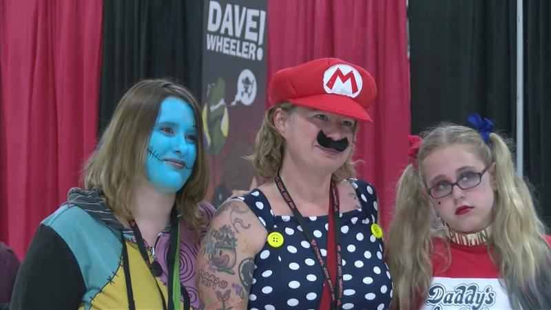Big Names Greet Fans at First Ever Comic Con in Albert Lea